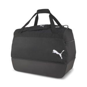 Sporttasche mit Bodenfach schwarz