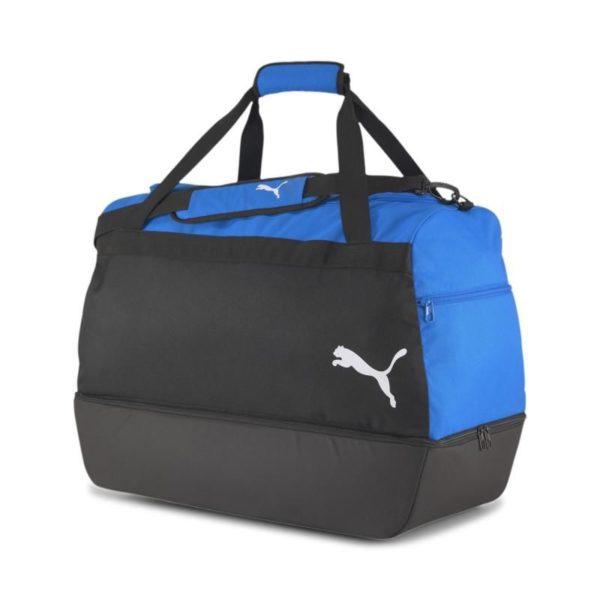 Sporttasche mit Bodenfach blau