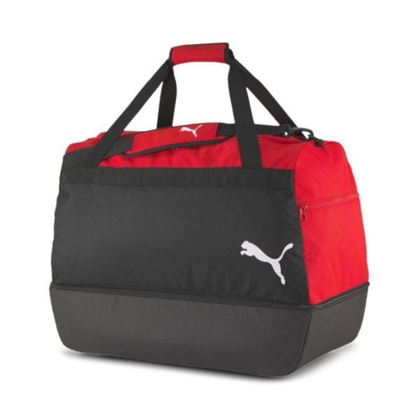 Sporttasche mit Bodenfach rot